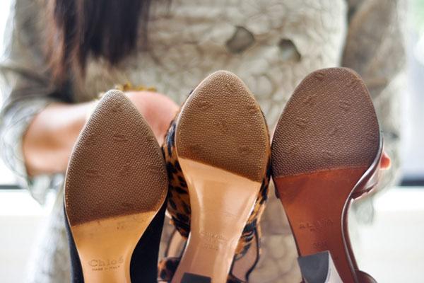 Грижи за обувките