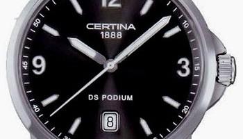 Часовниците на Certina - с високо качество и устойчивост