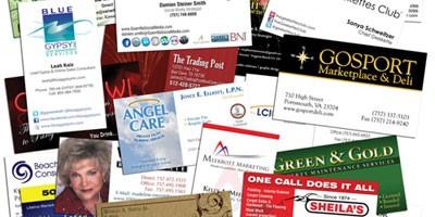 Бизнес представяне чрез визитни картички