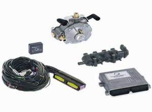 Стандартни газови уредби за колата ви