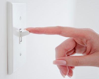Подходящи превключватели за осветление