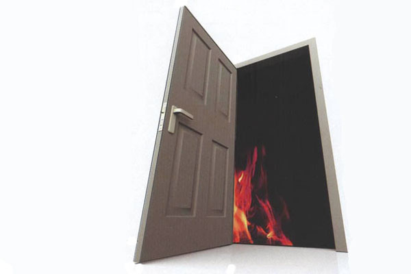 Огнеупорни врати