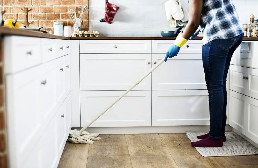 Почистване на двустаен апартамент