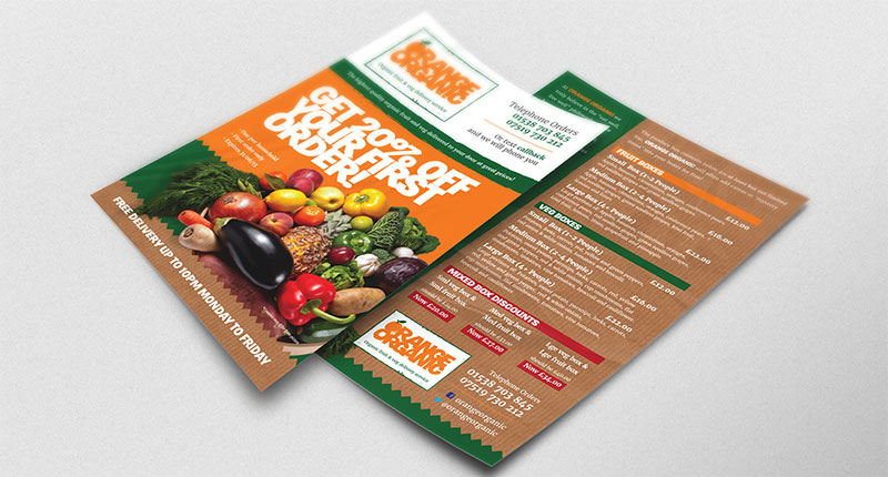 Дизайн на рекламна брошура